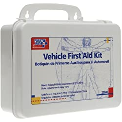 First Aid Only Vehicle Bulk First Aid Kit, 85-Pieces, Plastic Case