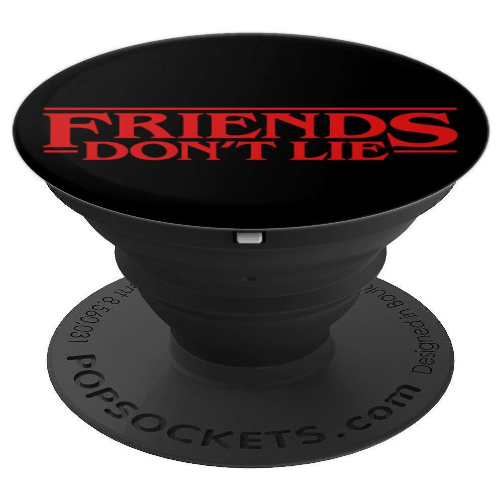 PopSockets: Friends Don't Lie - PopSockets Grip and Stand for Phones and Tablets by StrangerSockets