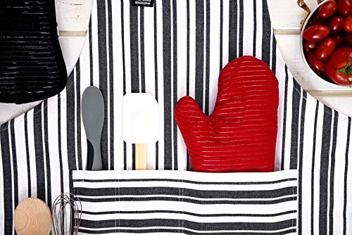 All-Clad Textiles Deluxe Heat and Stain Resistant Oven Mitt. Made of Silicone Treated Heavyweight 100-Percent Cotton Twill, Machine Washable, 14 x 6.5 Inches, Chili Red by All Clad Textiles (Image #7)