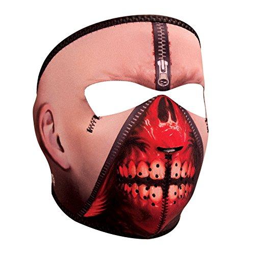 Zanheadgear WNFM108 Zipper Face Adult/Unisex ()