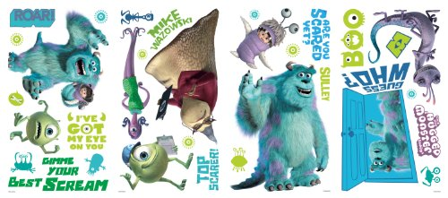 Disneys Monsters Inc Wall Decals product image