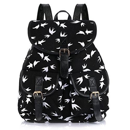 Sansarya Vintage Backpack Student Daypack product image