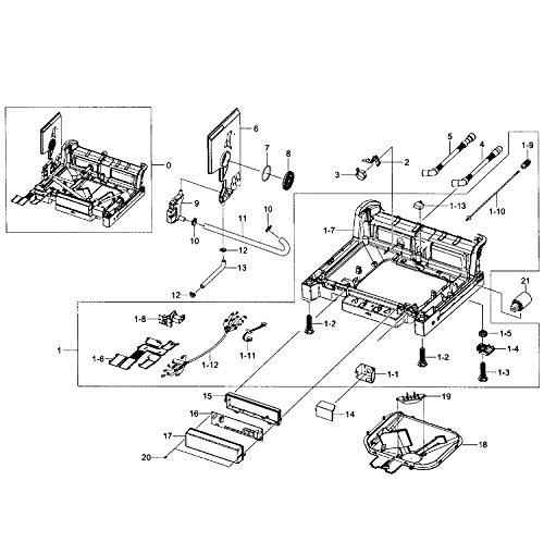(Samsung DD94-01006A Dishwasher Flow Sensor Genuine Original Equipment Manufacturer (OEM) Part)