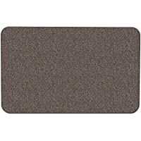 House, Home and More Skid-resistant Carpet Indoor Area Rug Floor Mat - Pebble Gray - 2 X 3 - Many Other Sizes to Choose From