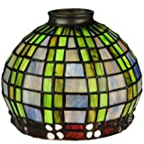 Meyda Tiffany 27405 Jeweled Basket Lamp Shade, 7'' Width