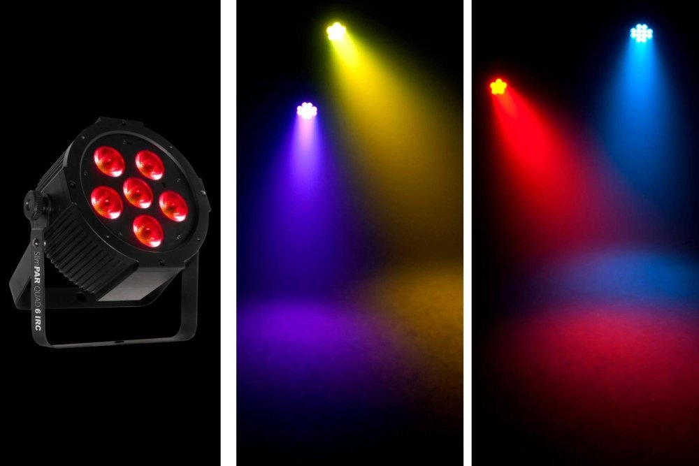 CHAUVET DJ SlimPAR Quad 6 IRC LED PAR Effect Light | LED Lighting
