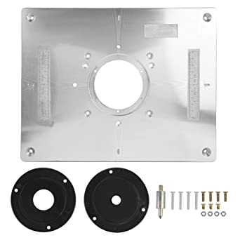 Placa de inserción de la mesa del router, 300mm x 235mm x 9.5mm ...