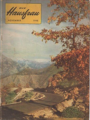 Die Hausfrau, vol. 45, no. 1 (November 1948)