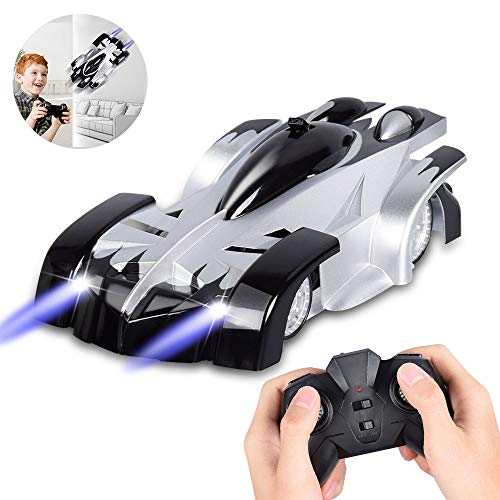 Remote Control Car, CPSYUB RC Car Toys for Boys Age 3,4, 5, 6, 7, 8, 9, 10, 11, 12 Girls, RC Car for Kids with Wall & Floor Mode, Wall Climbing Car with 360° Rotations, Best Boys Toys Car Gift (Black)