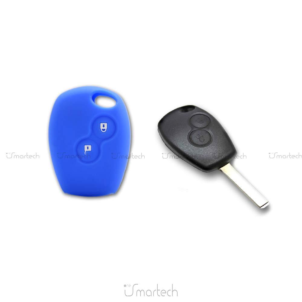 Guscio in Silicone aderente per chiave//telecomando CV4350 Fassport per Renault Dacia, con due bottoni
