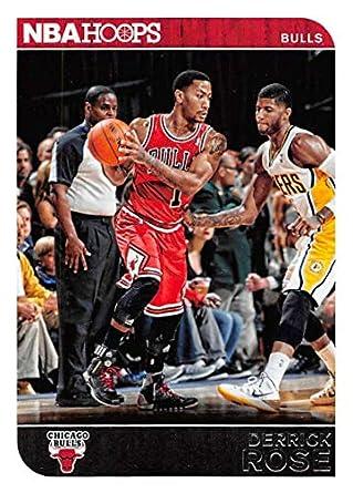 ce22903380d 2014-15 Panini Hoops Basketball  15 Derrick Rose Chicago Bulls Official NBA  Trading Card