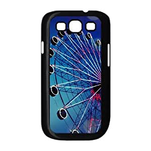 Samsung Galaxy S3 9300 Cell Phone Case Black Vintage Ferris Wheel Unique Customized Phone Case Cover CZOIEQWMXN10015