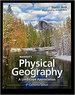Physical Geography Map Of Usa, Mcknights Physical Geography Fourth California Edition 4 E Textbook Binding 2016, Physical Geography Map Of Usa