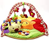 Guurachi Caterpillar Softly Snail Multi-Activity Playmat & Gym Baby Toy