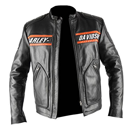 Goldberg it Bill Nero Pelle xxxl Giacca Harley Moto Di Amazon dSxnHg