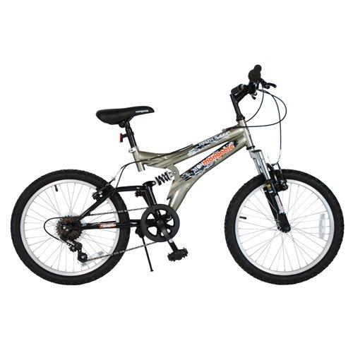 "Mongoose 20"" 7 Speed Hijinx Bike | Grey"