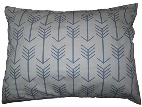 Standard pillow Sham Slate Blue Arrows Pillow Cover. bed Throw Pillow. Wedgwood blue pattern Toss Pillows. Cushion. Bed dorm. twin, queen, Pillow Cover. Pillow Sham 20
