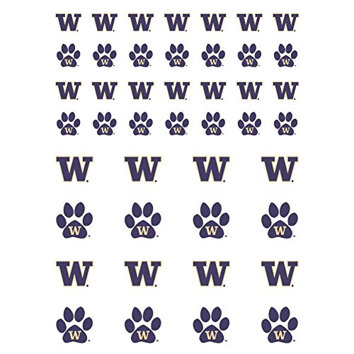 (The Fanatic Group Washington Huskies Small Sticker Sheet - 2 Sheets)