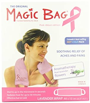 Magic Bag Pink Edition Lavender Scented Hot/Cold Wrap, 32 Ounce