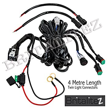 fog light wiring loom harness deluxe high quality britalitez fog light wiring loom harness deluxe high quality britalitez loom led light bar spot