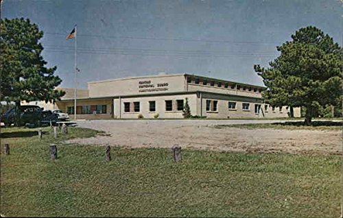 Kansas National Guard Armory Wellington Original Vintage Postcard