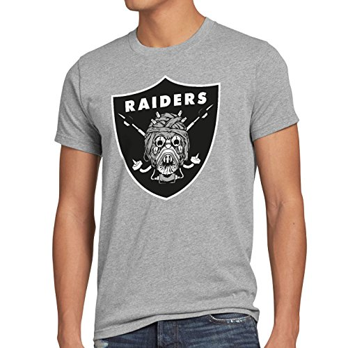 Team M Shirt A Grey Raiders T nner Tatooine Football American n Heather tTusken kuiXTPOZ