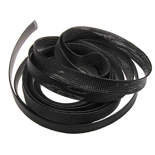 1M/5M/10M Braided Sleeving 2mm Tight PET Expandable Cable Sleeve Insulation High Density Sheathing Wire Gland Cables Protection by MEIZOKEN (Image #1)