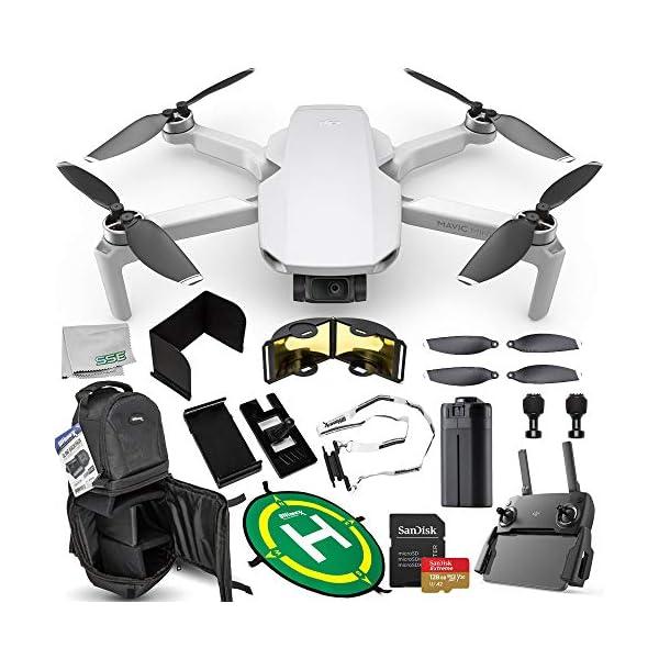 DJI Mavic Mini Portable Drone Quadcopter Ultimate 128GB Bundle – CP.MA.00000120.01