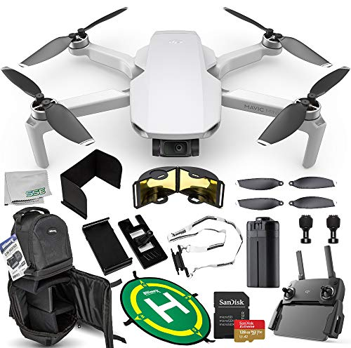 DJI Mavic Mini Portable Drone Quadcopter Ultimate 128GB Bundle – CP.MA.00000120.01