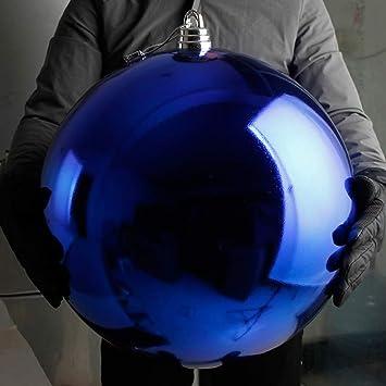 Christbaumkugeln 25 Cm.Christbaumkugeln Aus Kunststoff Kunststoff Blau 15 20 25 30 40 50 60 60 Cm 1 Stück Größe 60 Cm