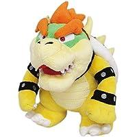 "Super Mario Bros Plush Bowser 10"""