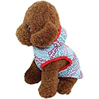 Litetao Fall Classic Cute Pet Hoodie Clothes Puppy Colorful Print Comfortable Costume