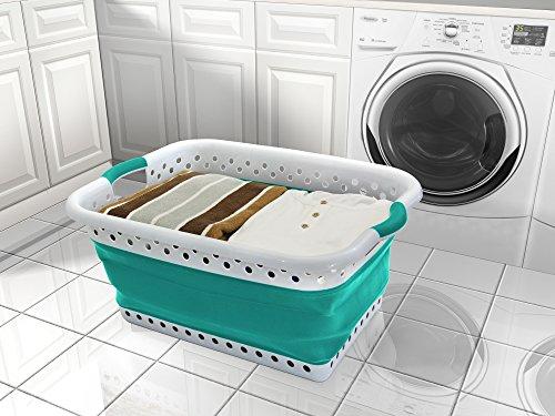Vanderbilt Collapsible Laundry Basket by POP & STORE - Load Basket