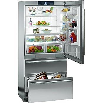 Liebherr CS2060 19.4 Cu. Ft. Gray Counter Depth Bottom Freezer Refrigerator - Energy Star
