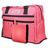 Folding travelling luggage bag for men and women gym sports waterproof portable luggage bag Review