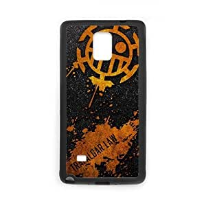 Special Design Cases Samsung Galaxy Note 4 N9108 Cell Phone Case Black Trafalgar Law Uekuc Durable Rubber Cover