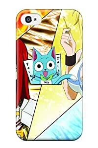 Hot New Fairy Tail Case Cover For Iphone 4/4s With Perfect Design