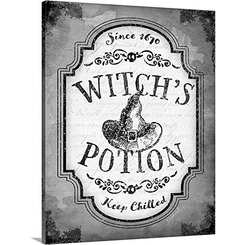 GREATBIGCANVAS Gallery-Wrapped Canvas Entitled Witch's Potion by Jennifer Pugh 24