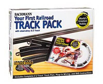 Bachmann Trains Snap - Fit E - Z Track Steel Alloy World's Greatest Hobby Track Pack by Bachmann Industries Inc