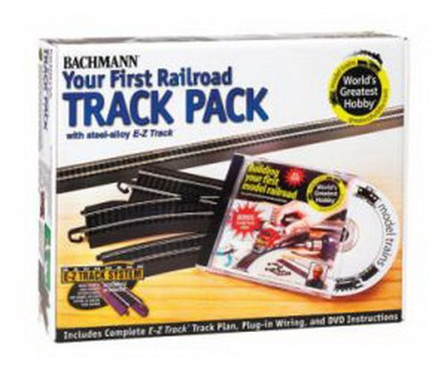 Bachmann Trains Snap - Fit E - Z Track Steel Alloy World's Greatest Hobby Track Pack (Radius Curve Bachmann Trains)