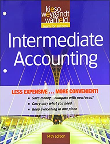 Amazon intermediate accounting 9780470917831 donald e intermediate accounting 14th edition fandeluxe Choice Image