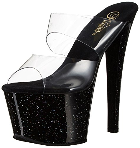 High Heels Pleaser SKY-302MG Transparent-6