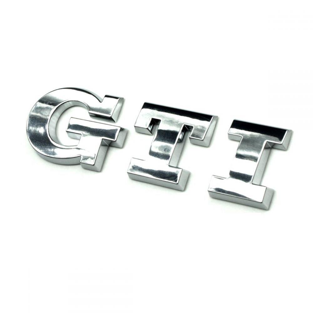 GTI Schriftzug Emblem Logo Polo 6C