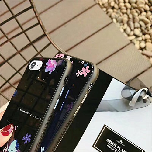 iPhone 6 Case,iPhone 6S Silicone Case,EUWLY Flexible Silicone Gel Rubber Case Cover with Love Heart Pattern Design Shockprroof Anti-Scratch Ptotective Case Cover for Apple iPhone 6/6S + 1 x Stylus,Whi Butterfly Flower