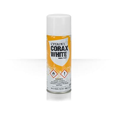 Warhammer 40K Citadel Corax White Model Paint: Toys & Games