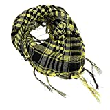 Fashion Scarfs for Women Hot Sale,DEATU Ladies Windproof Sandproof Warm Plaid Scarf Long Soft Wrap Scarf Shawl (Yellow)