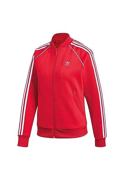adidas SST TT Sudadera, Mujer, Rojo (rojrad), 28
