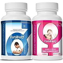 FertilHerb® Combo - 1 Month Supply of FertilHerb fertility supplement for Women and Men