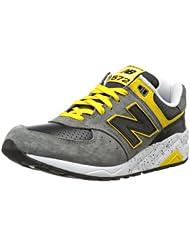 (新品)新百伦 New Balance 男款2014最新 万圣节款 MR572 时尚真皮休闲鞋 折后$91.42
