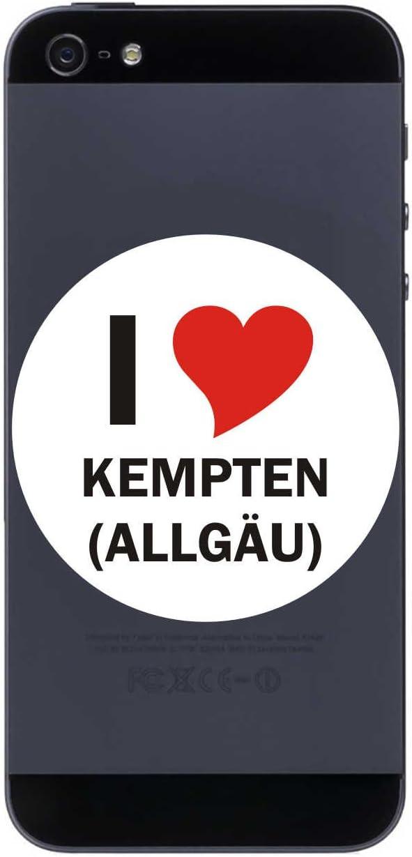 I Love Aufkleber 7 Cm Mit Stadtname Kempten Decal Elektronik